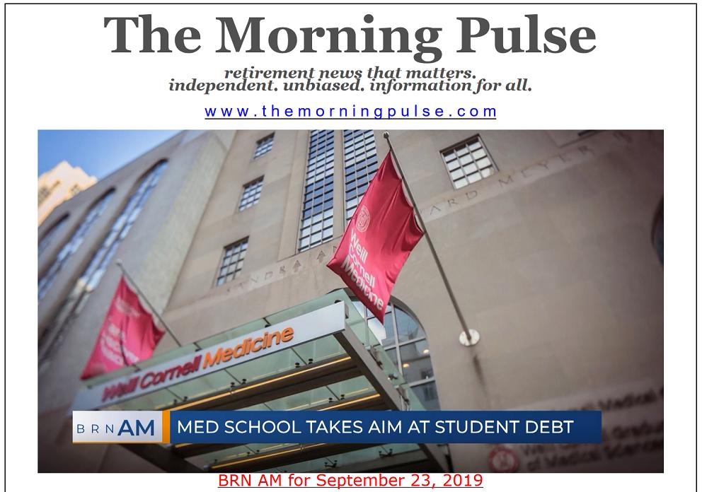 The Morning Pulse – September 23, 2019