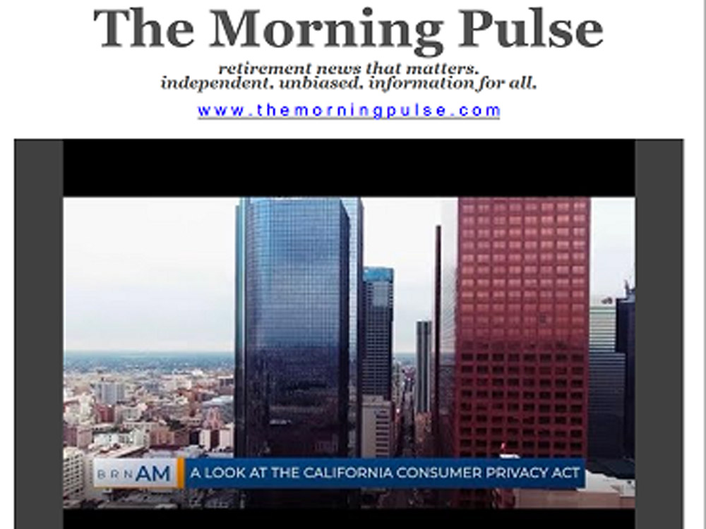 The Morning Pulse – October 11, 2019
