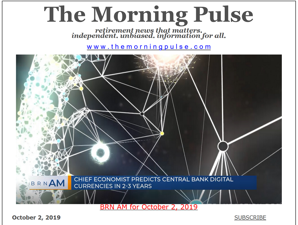 The Morning Pulse – October 2, 2019