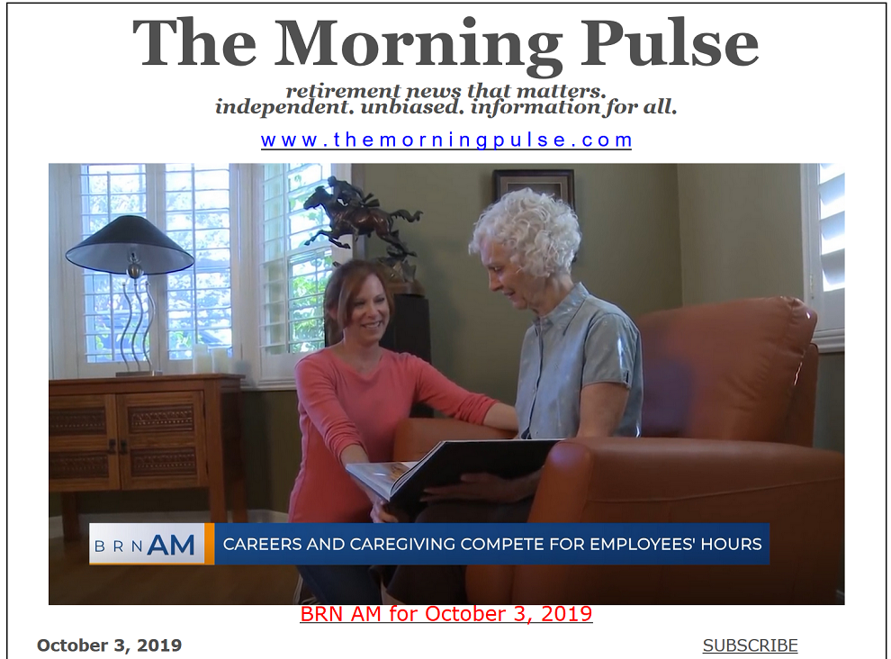 The Morning Pulse – October 3, 2019