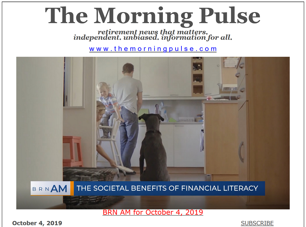 The Morning Pulse – October 4, 2019