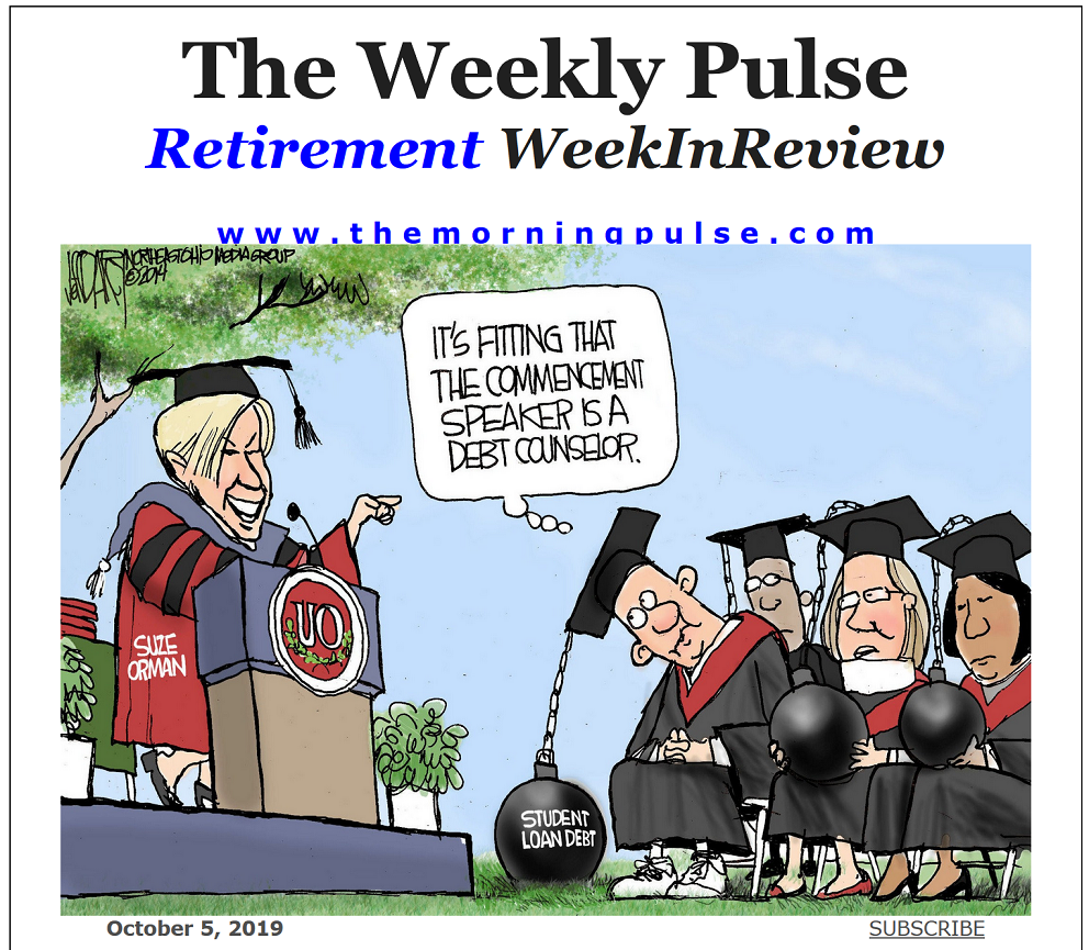 The Weekly Pulse – October 5, 2019