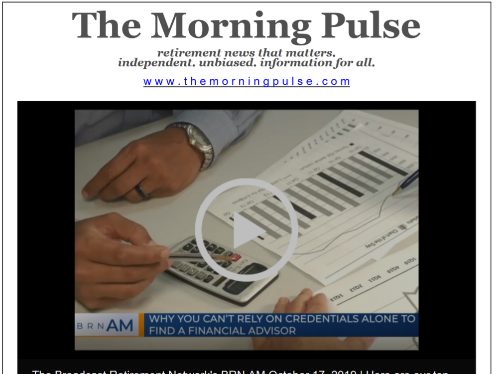 The Morning Pulse – October 17, 2019