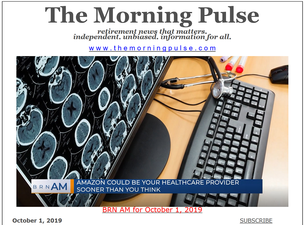 The Morning Pulse – October 1, 2019