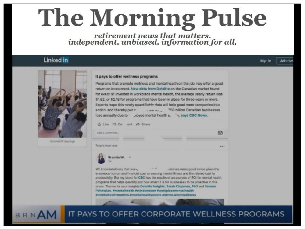 The Morning Pulse – Monday, November 18, 2019