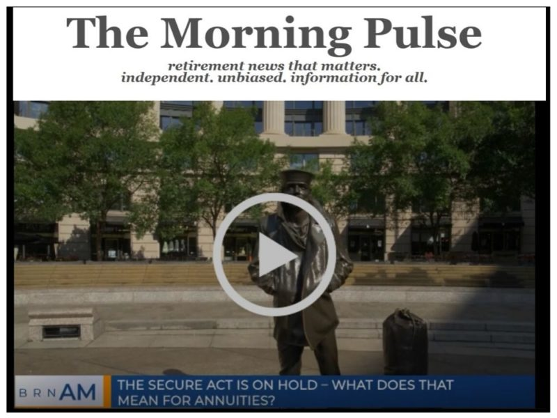 The Morning Pulse – Friday, November 22, 2019