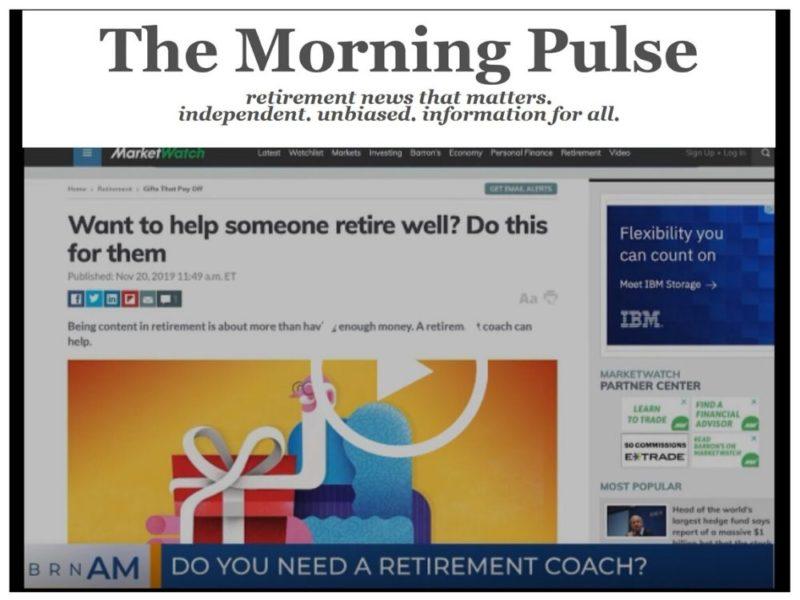 The Morning Pulse – Monday, November 25, 2019