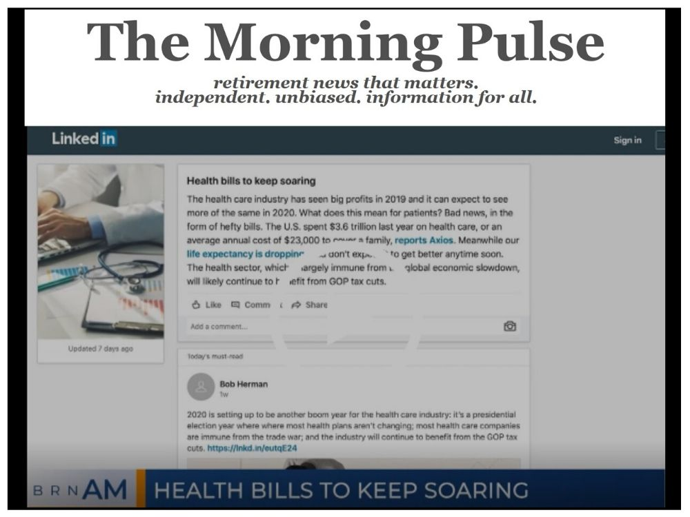 The Morning Pulse – Monday, December 16, 2019