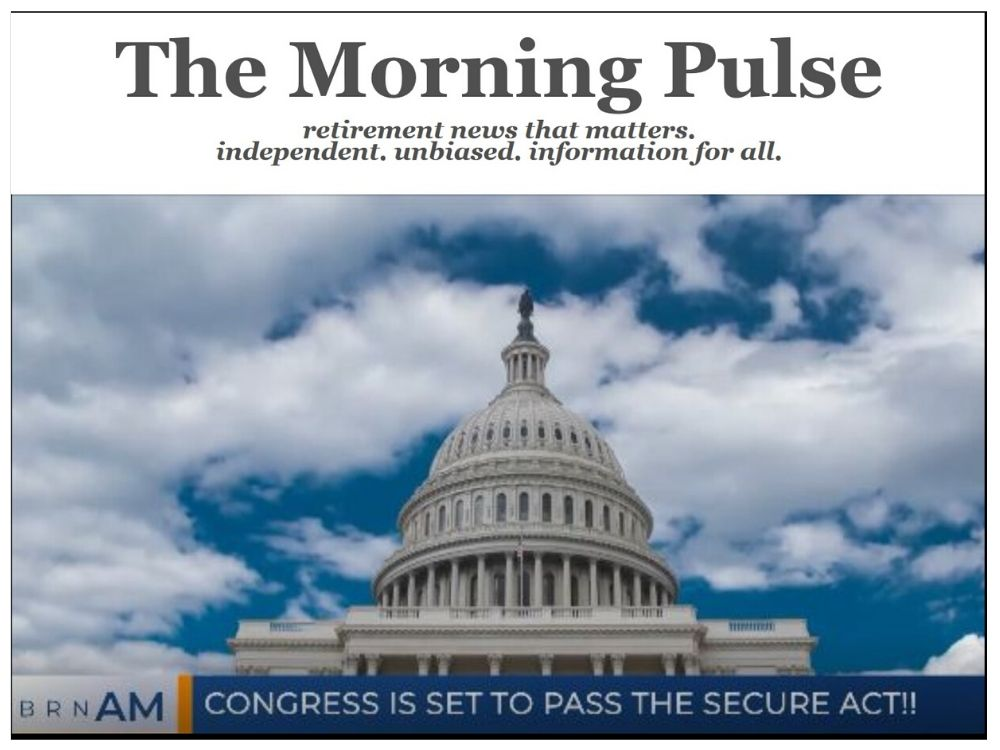 The Morning Pulse – Wednesday, December 18, 2019