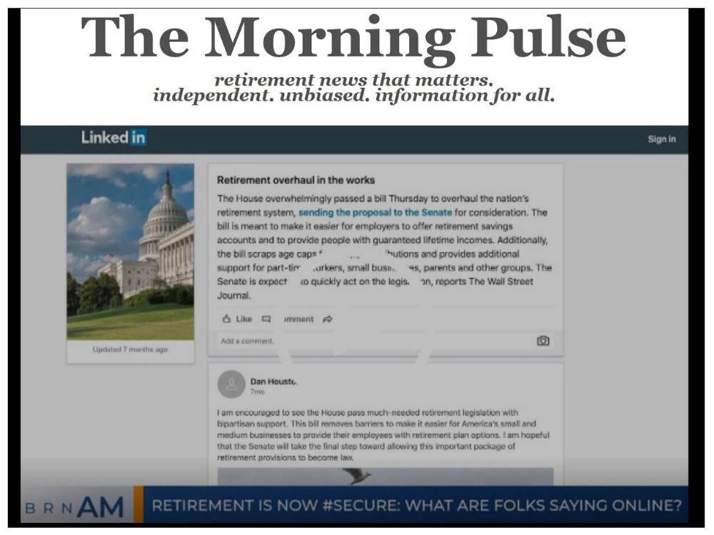 The Morning Pulse – Monday, December 23, 2019