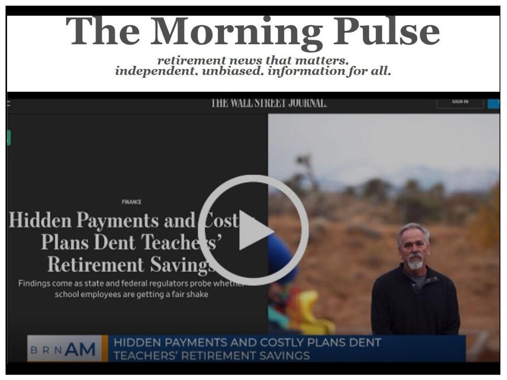 The Morning Pulse – Friday, December 27, 2019