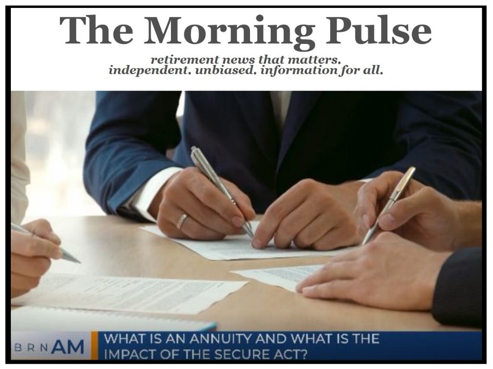 The Morning Pulse – Wednesday, January 22, 2020