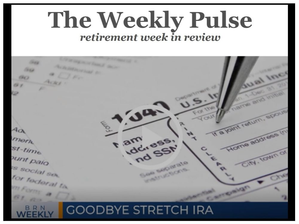 The Weekly Pulse – January 25, 2020