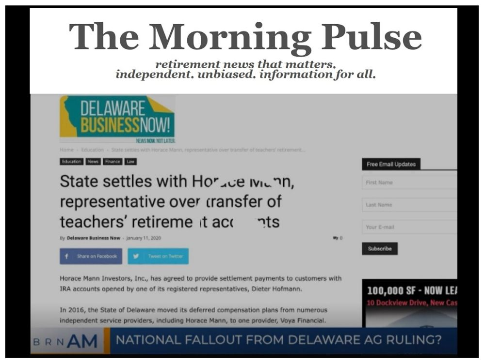 The Morning Pulse – Thursday, January 30, 2020