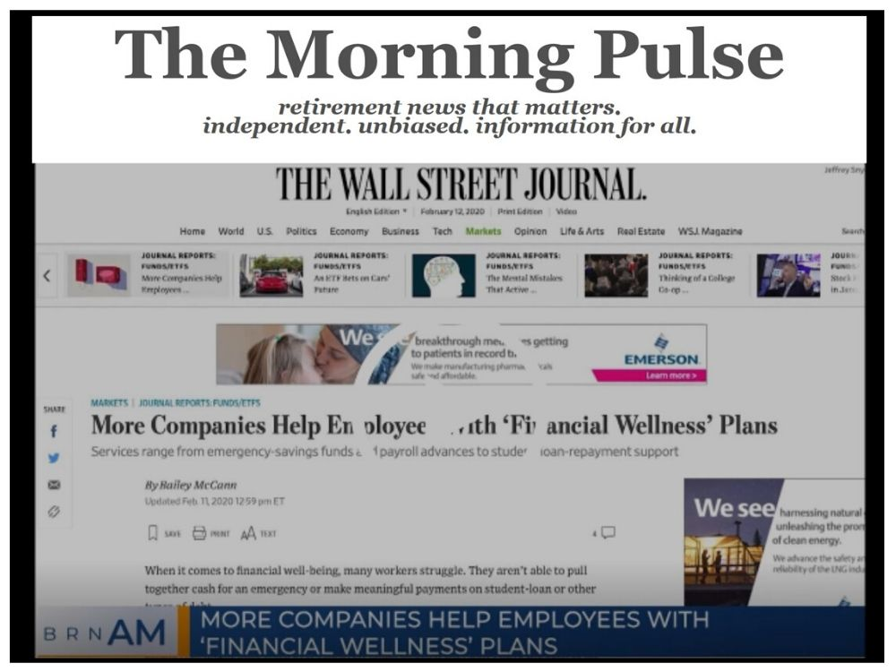 The Morning Pulse – Thursday, February 13, 2020