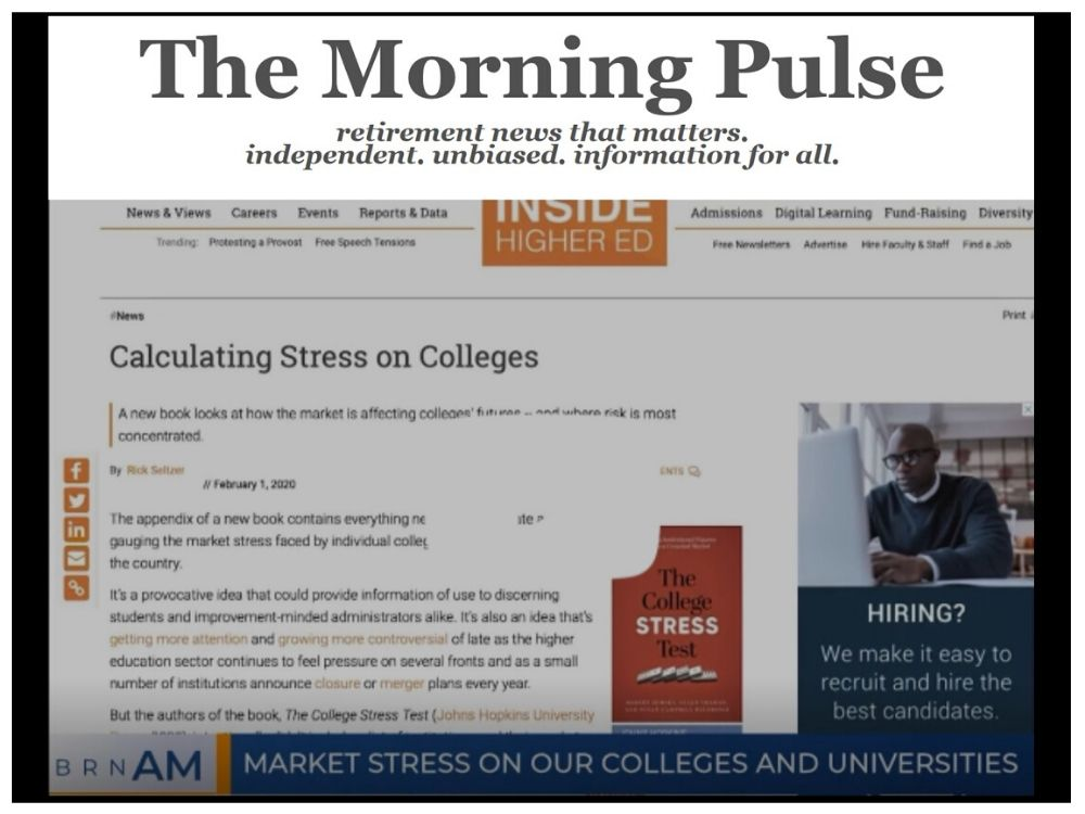 The Morning Pulse – Monday, March 2, 2020