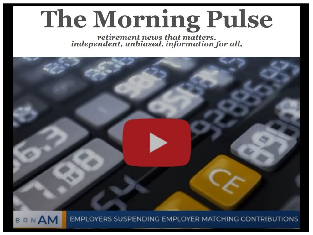 The Morning Pulse – Wednesday, April 15, 2020