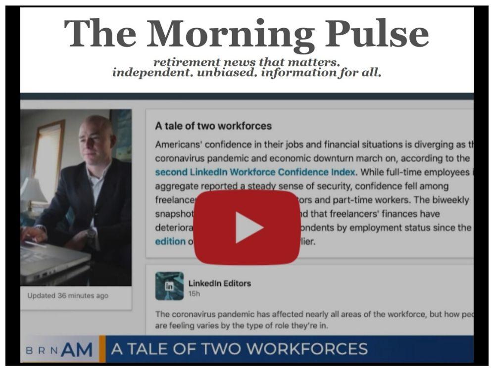 The Morning Pulse – Friday, May 1, 2020