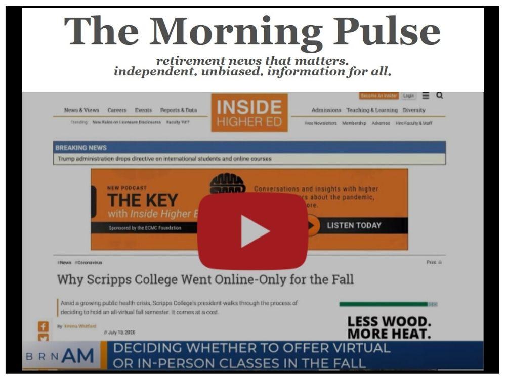 The Morning Pulse – Thursday, July 16, 2020