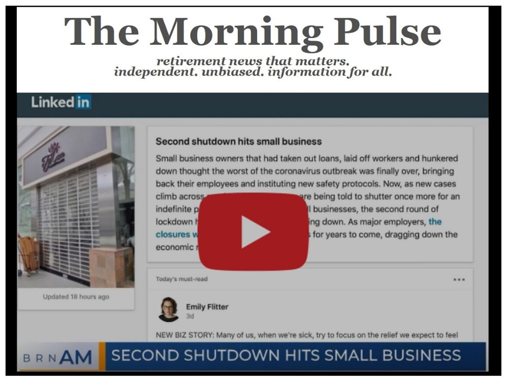 The Morning Pulse – Friday, July 17, 2020