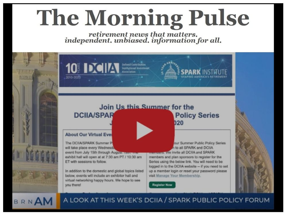 The Morning Pulse – Monday, July 13, 2020