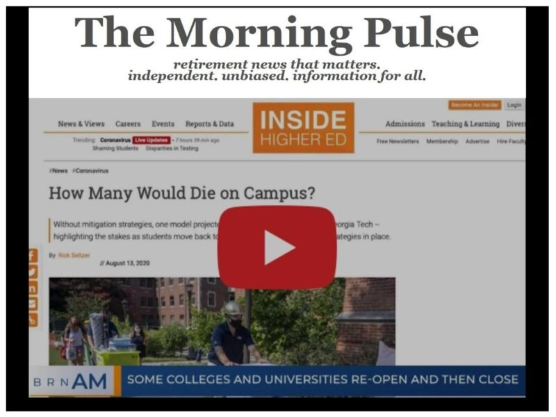 The Morning Pulse – Monday, August 24, 2020