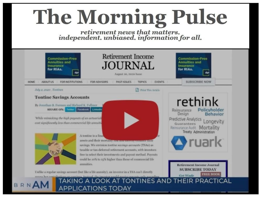 The Morning Pulse – Thursday, August 27, 2020