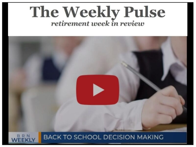 The Weekly Pulse – Saturday, August 29, 2020