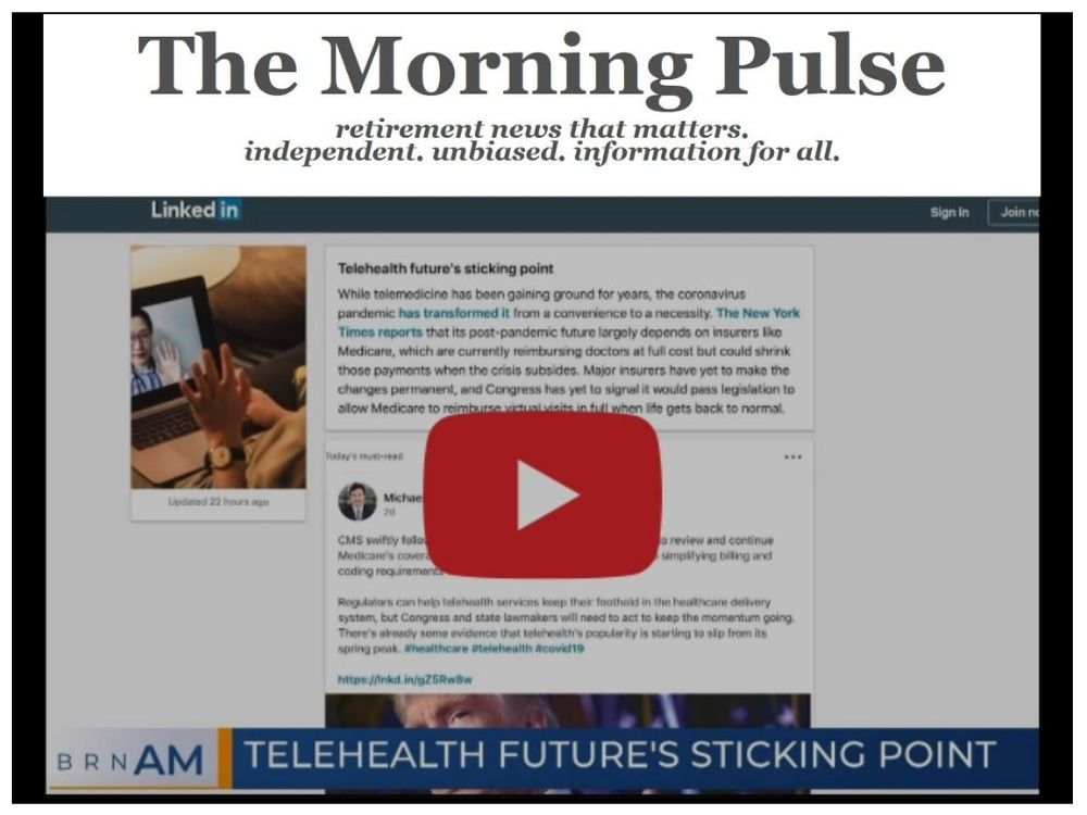 The Morning Pulse – Friday, August 7, 2020