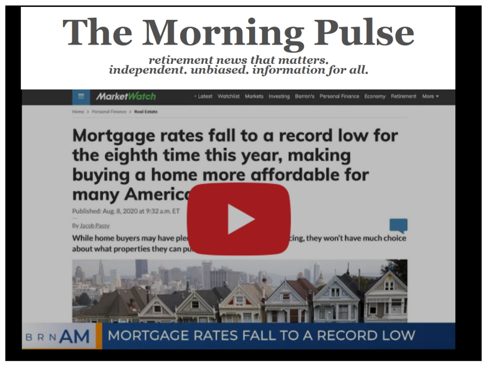 The Morning Pulse – Monday, August 10, 2020