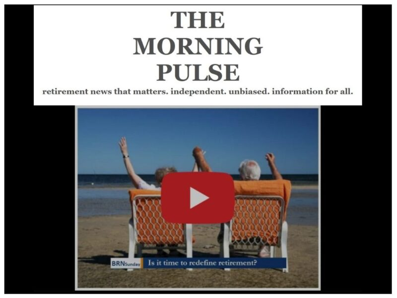 The Morning Pulse – Sunday, September 13, 2020