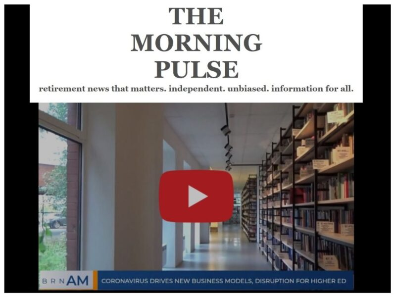 The Morning Pulse – Monday, September 21, 2020