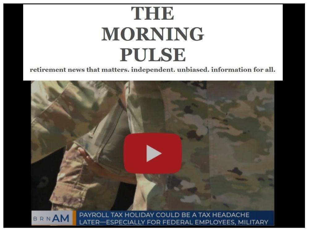The Morning Pulse – Wednesday, September 23, 2020
