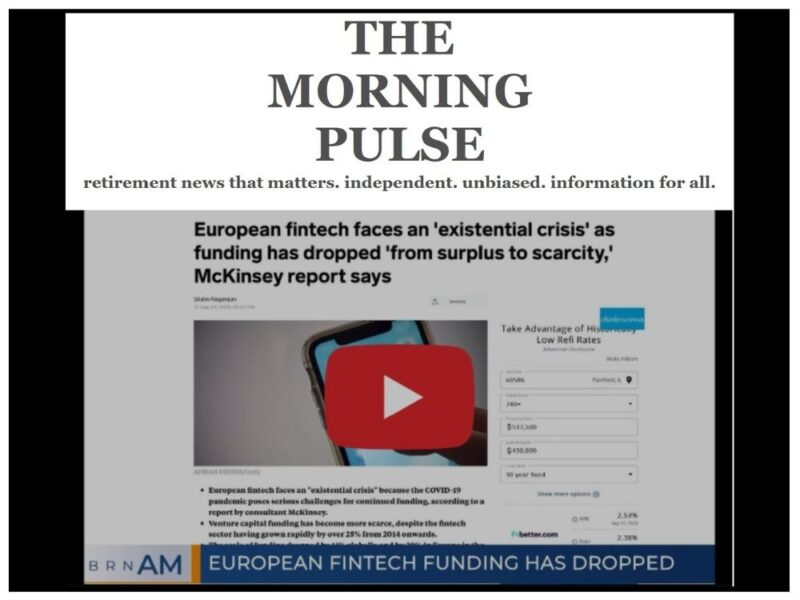The Morning Pulse – Tuesday, September 29, 2020