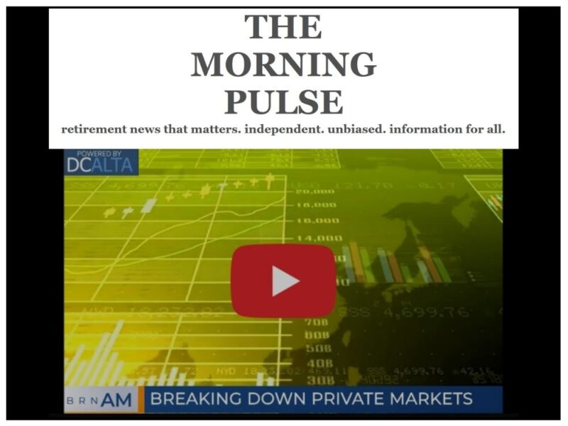 The Morning Pulse – Wednesday, September 9, 2020