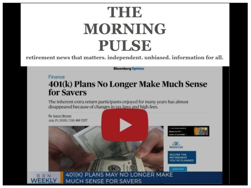 The Morning Pulse – Saturday, September 12, 2020
