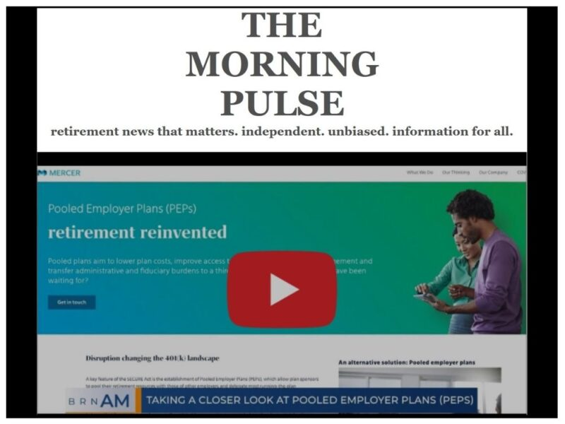 The Morning Pulse – Wednesday, October 14, 2020
