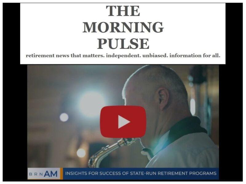 The Morning Pulse – Thursday, October 15, 2020