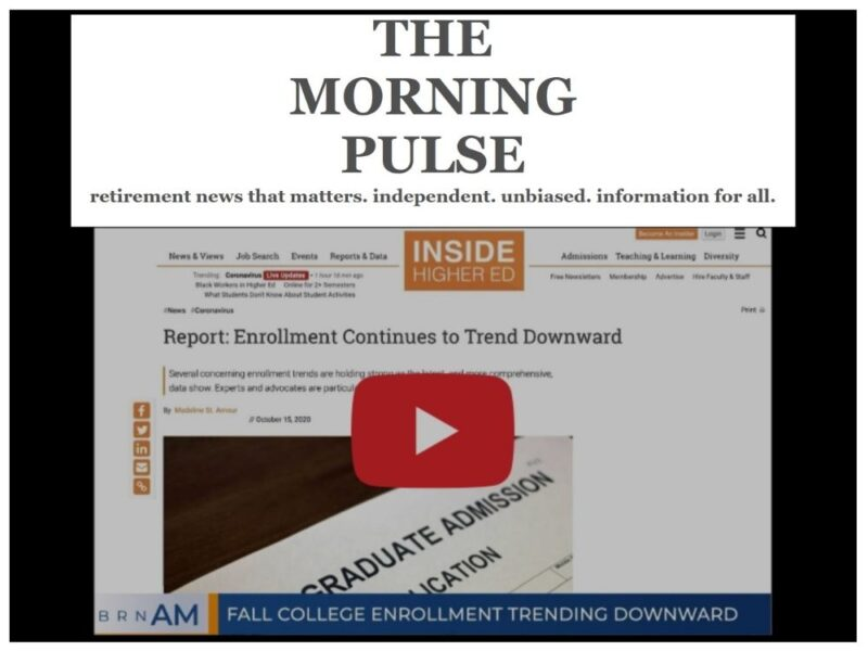 The Morning Pulse – Wednesday, October 28 2020