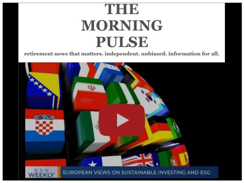 The Morning Pulse – Saturday, October 10, 2020