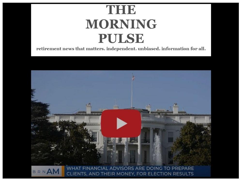 The Morning Pulse – Thursday, November 12, 2020