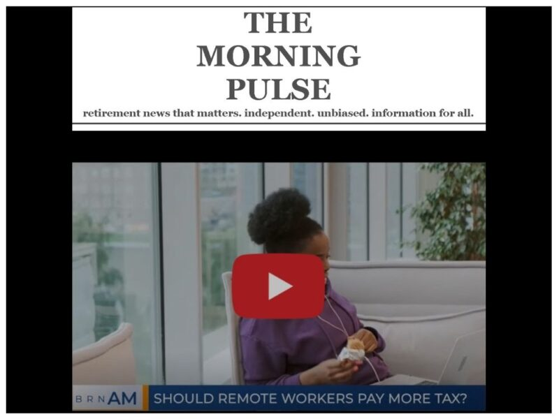 The Morning Pulse – Friday, November 13, 2020
