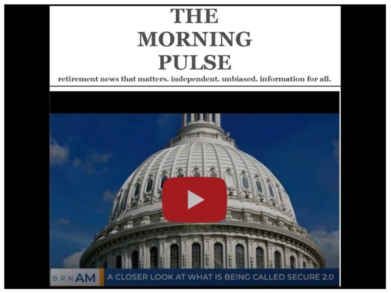 The Morning Pulse – Monday, November 16, 2020