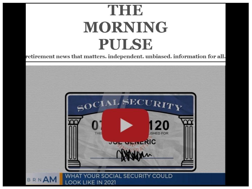 The Morning Pulse – Monday, November 9, 2020
