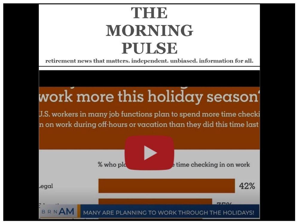 The Morning Pulse – Friday, December 18, 2020