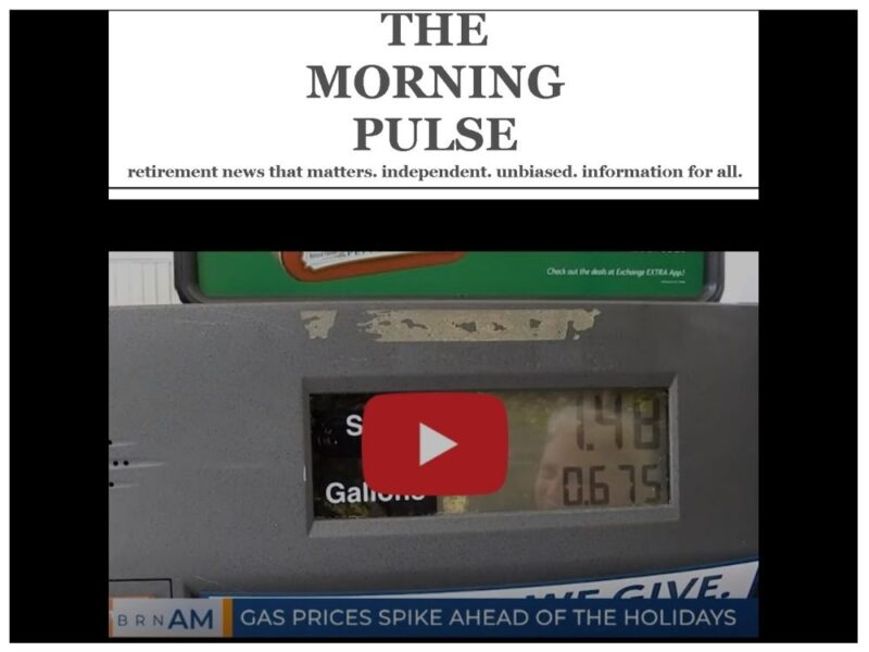 The Morning Pulse – Wednesday, December 23, 2020