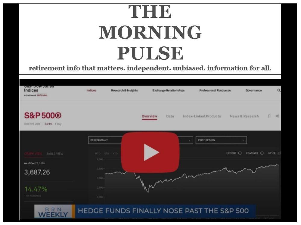 The Morning Pulse – Saturday, December 26, 2020