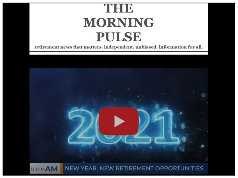 The Morning Pulse – Monday, December 28, 2020