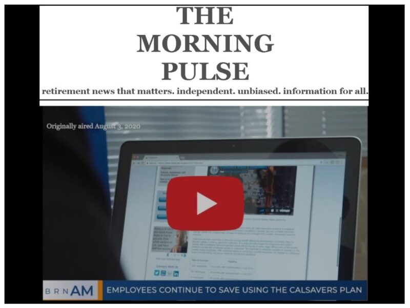 The Morning Pulse – Thursday, December 31, 2020