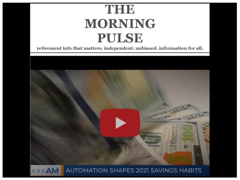 The Morning Pulse – Tuesday, January 12, 2021